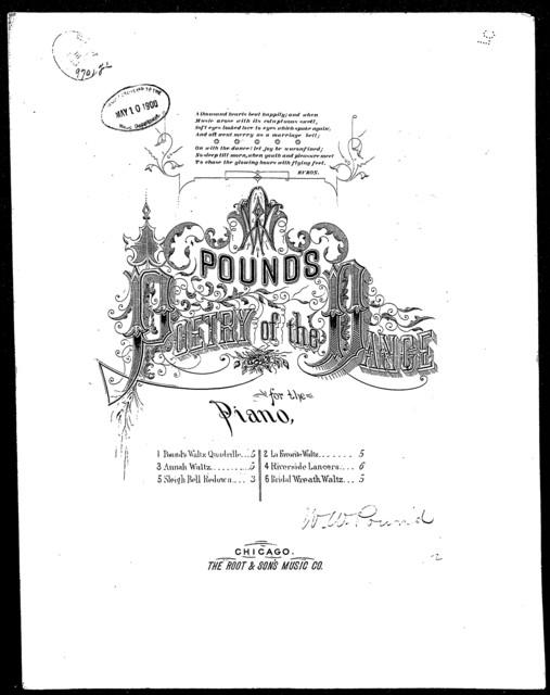 Pound's waltz quadrille