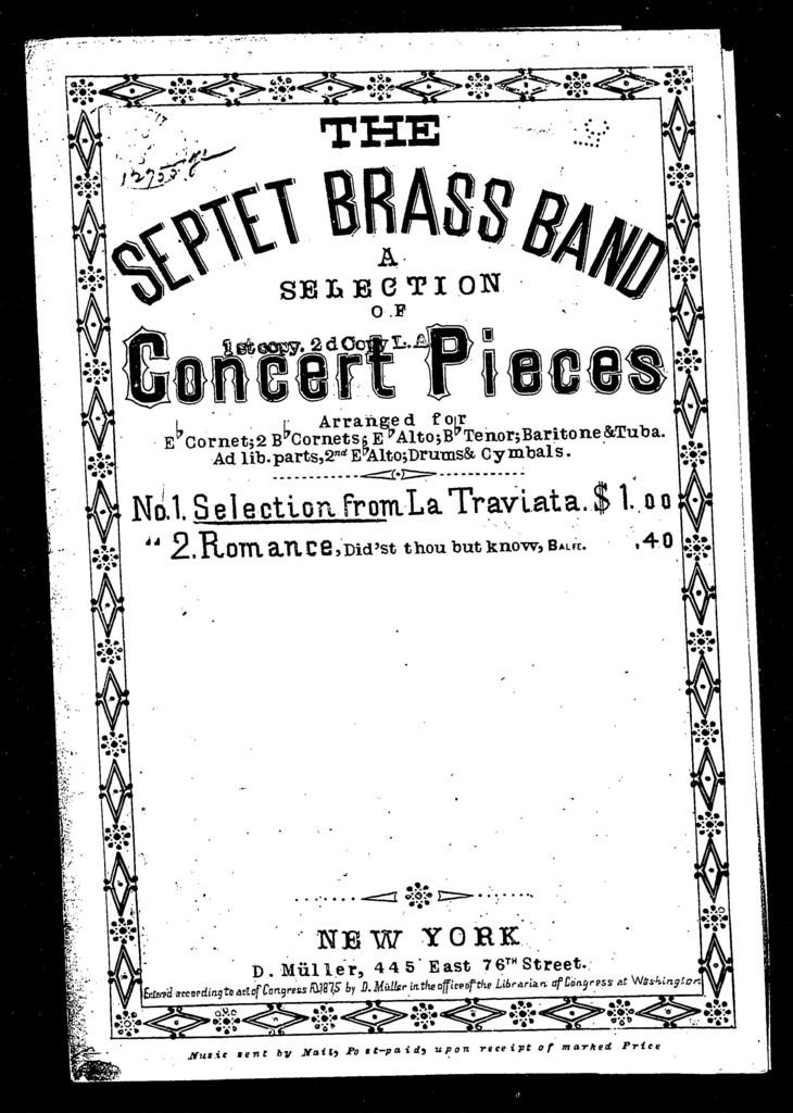 Selection from Verdi's opera La Traviata