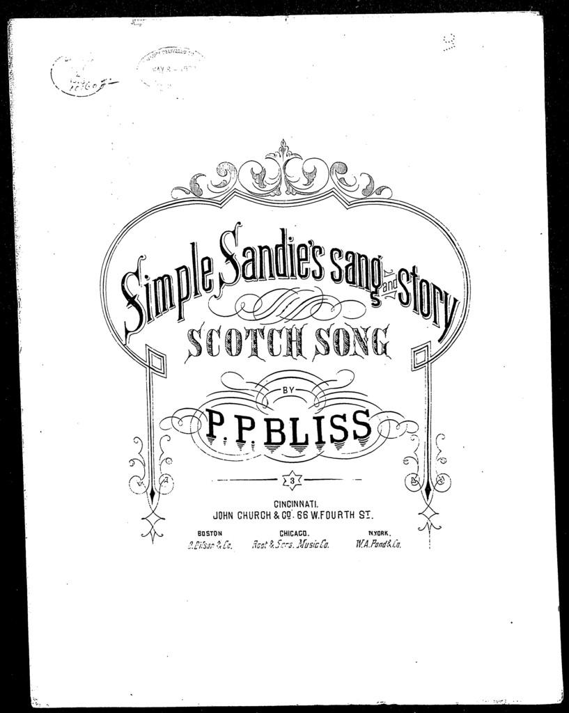 Simple Sandie's sang and story