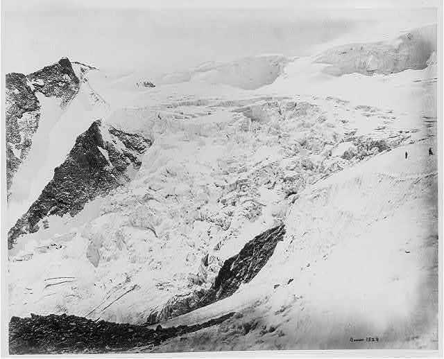 Snow scene on the Neckla pass