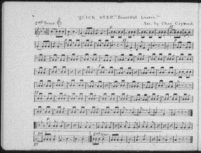 Squire's Cornet Band Olio No. 3
