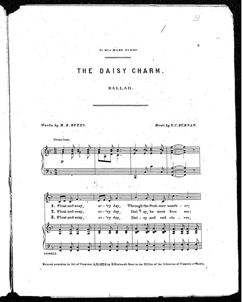 The  Daisy charm