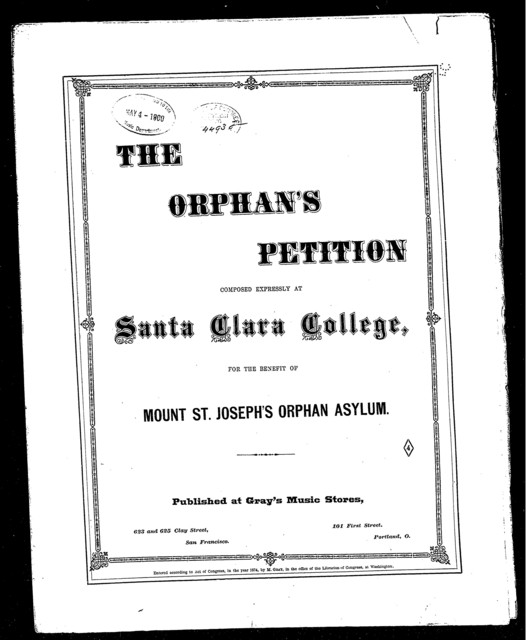 The  Orphan's petition