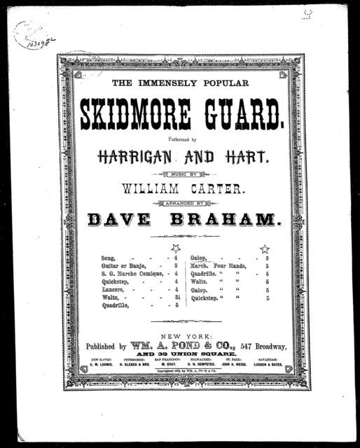 The  Skidmore guard galop