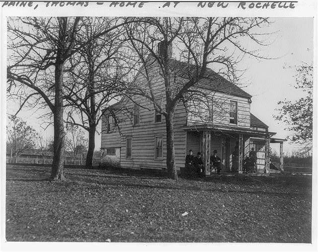 [Thomas Paine cottage at New Rochelle, N. Y.]