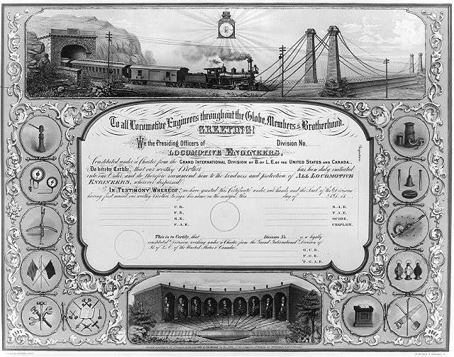 To all locomotive engineers throughout the globe, members of the brotherhood