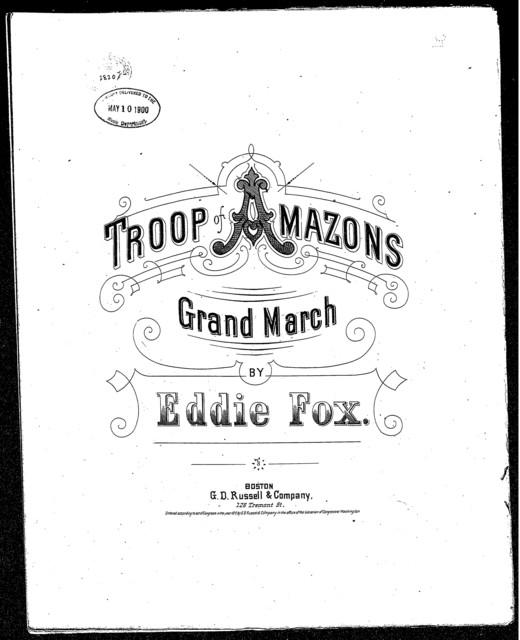 Troop of Amazons