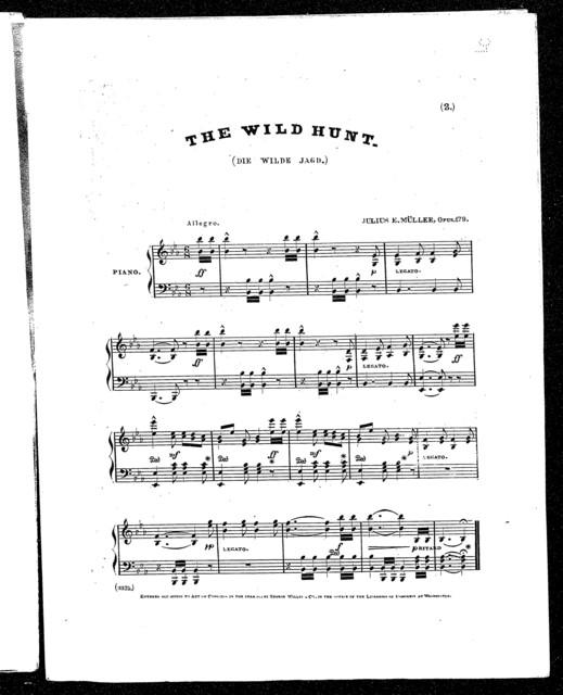 Wild hunt, The - Die wilde jagd