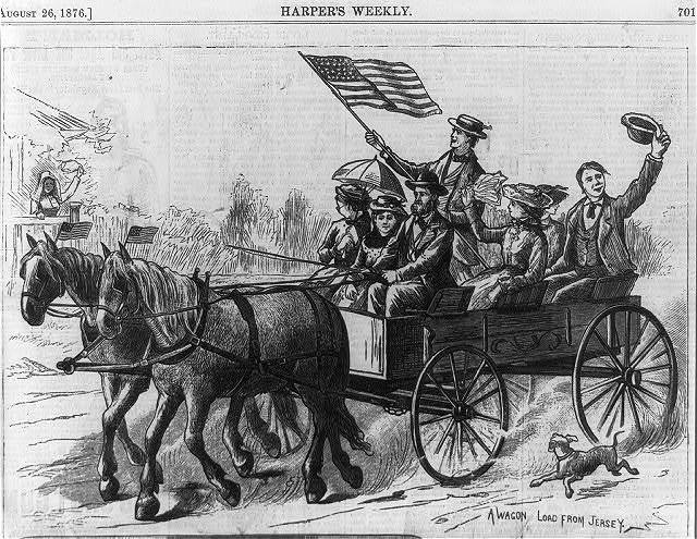 A Wagon Load from Jersey