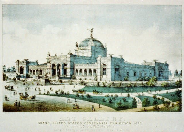 Art Gallery: Grand United States Centennial exhibition 1876 - Fairmount Park, Philadelphia
