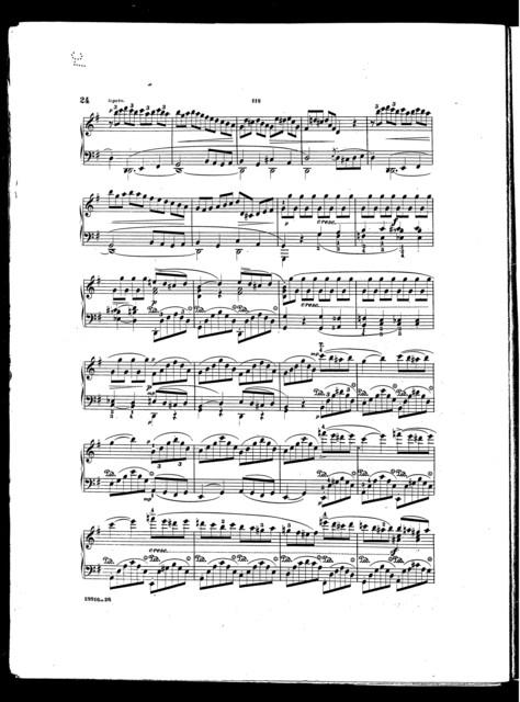 Beethoven's Sonatas, op. 31. no. 1