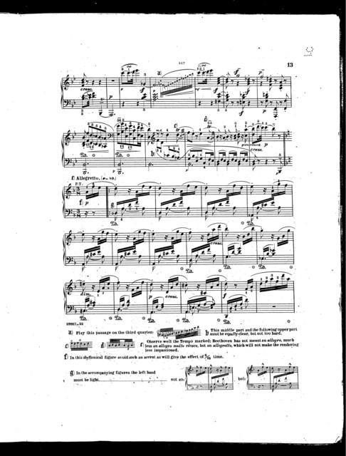 Beethoven's Sonatas, op. 31, no. 2