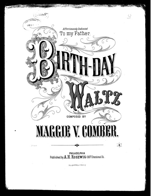 Birth-day waltz