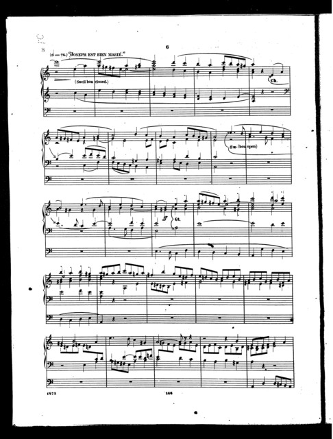 Compositions for the organ, book 9