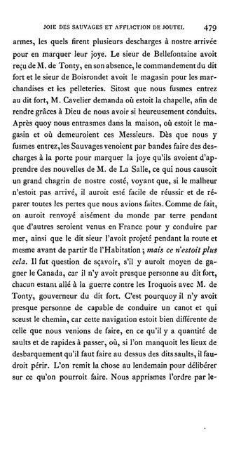 Découvertes et établissements des français dans l'ouest et dans le sud de l'Amérique Septentrionale (1614-1754) Mémoires et documents originaux recueillis et pub.