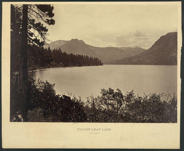 Fallen Leaf Lake, looking south