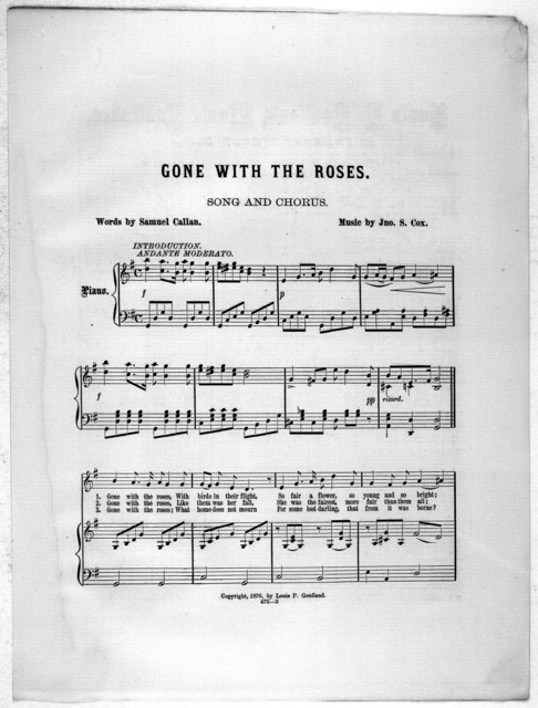Gone with the roses