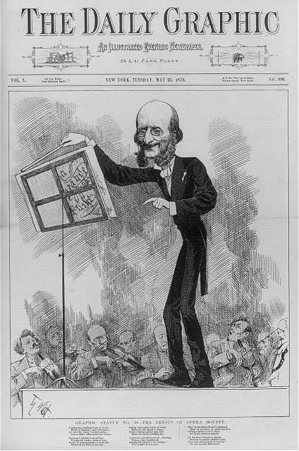 Graphic Statue No. 58 - The Genius of Opera Bouffe / Th. Nast.