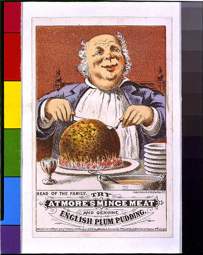 Head of the family, try Atmore's mince meat and genuine English plum pudding / Clay, Cosack & Co., Buffalo, N.Y.