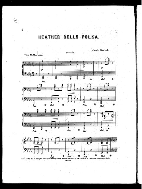 Heather bells polka