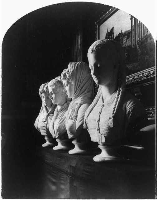 "International Exhibition, Phila., Pa., 1876: ""Four Beauties"""