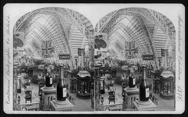 International Exhibition, Phila., Pa.: Agriculture Hall from South Gallery