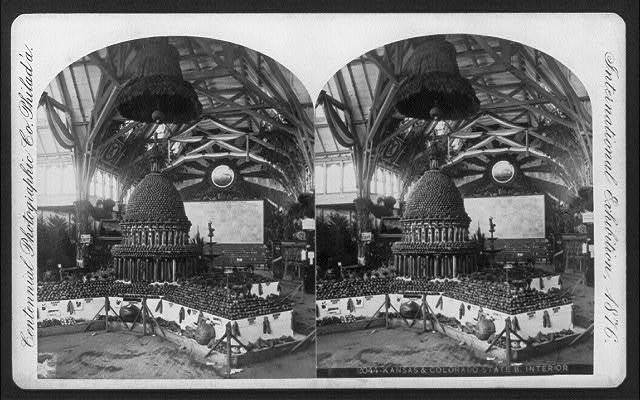 International Exhibition, Phila., Pa.: Kansas & Colorado State Building - interior