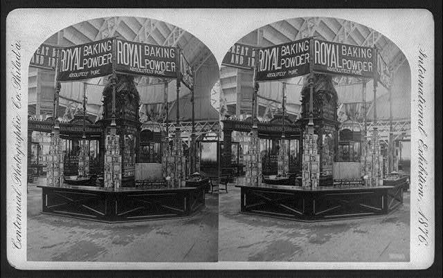 International Exhibition, Phila., Pa.: Royal Baking Powder Exhibit