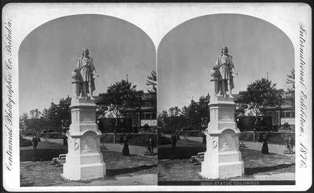 International Exhibition, Phila., Pa.: Statue of Columbus