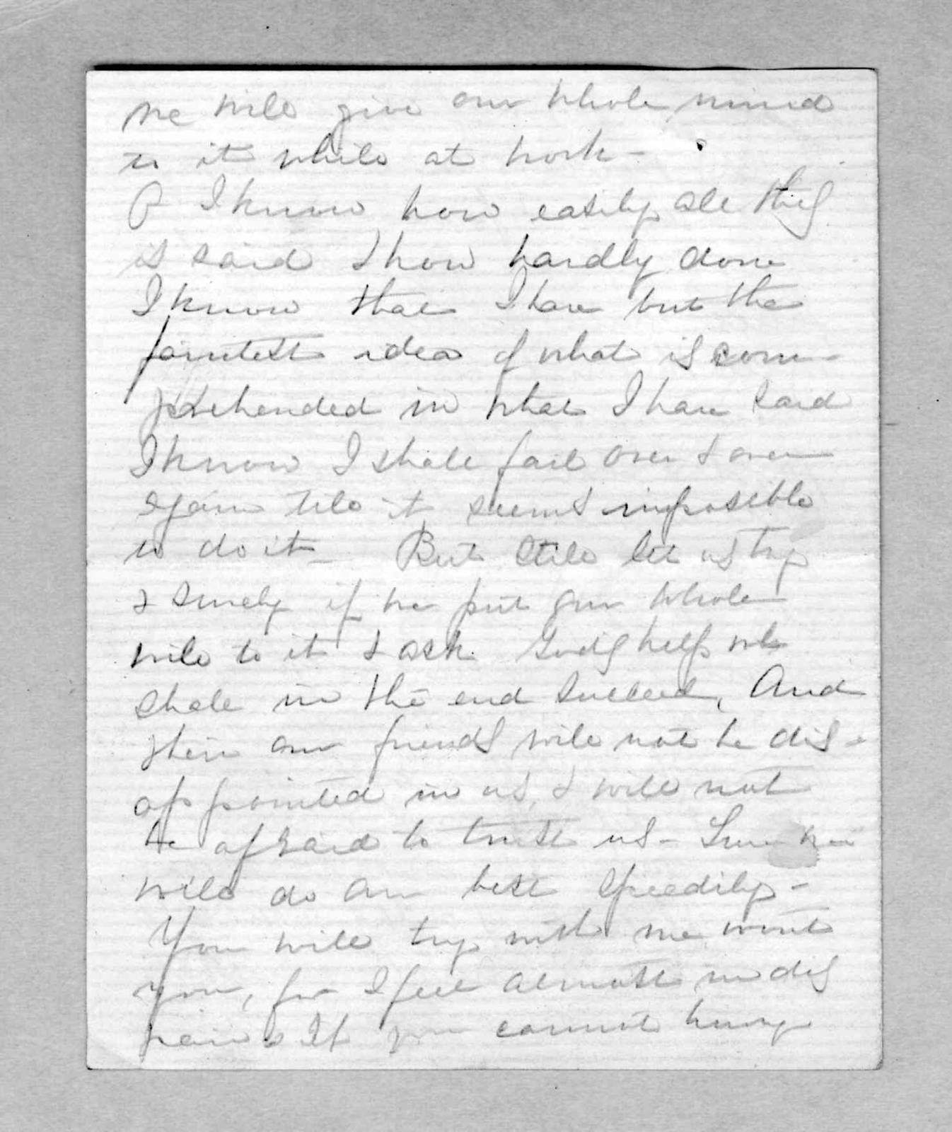 Letter from Mabel Hubbard Bell to Alexander Graham Bell, 1876