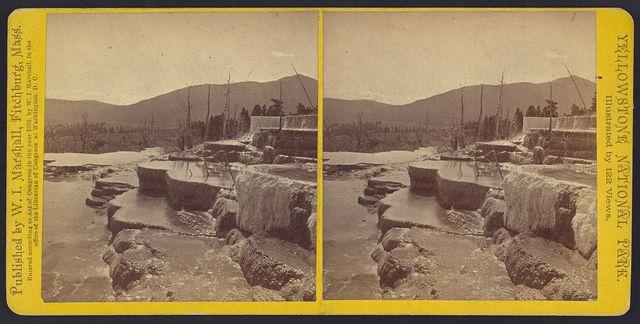 Mammoth Hot Springs Series. Diana's Baths