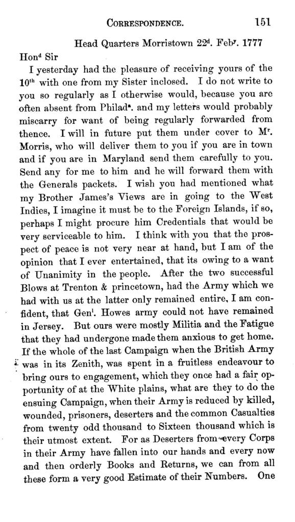 Memoir of Lieut. Col. Tench Tilghman, secretary and aid to Washington : together with an appendix, containing revolutionary journals and letters, hitherto unpublished.