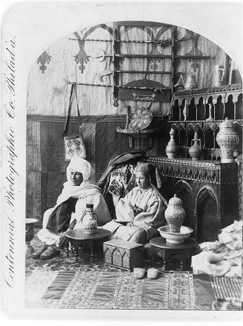 Moors, Moorish furniture, etc.