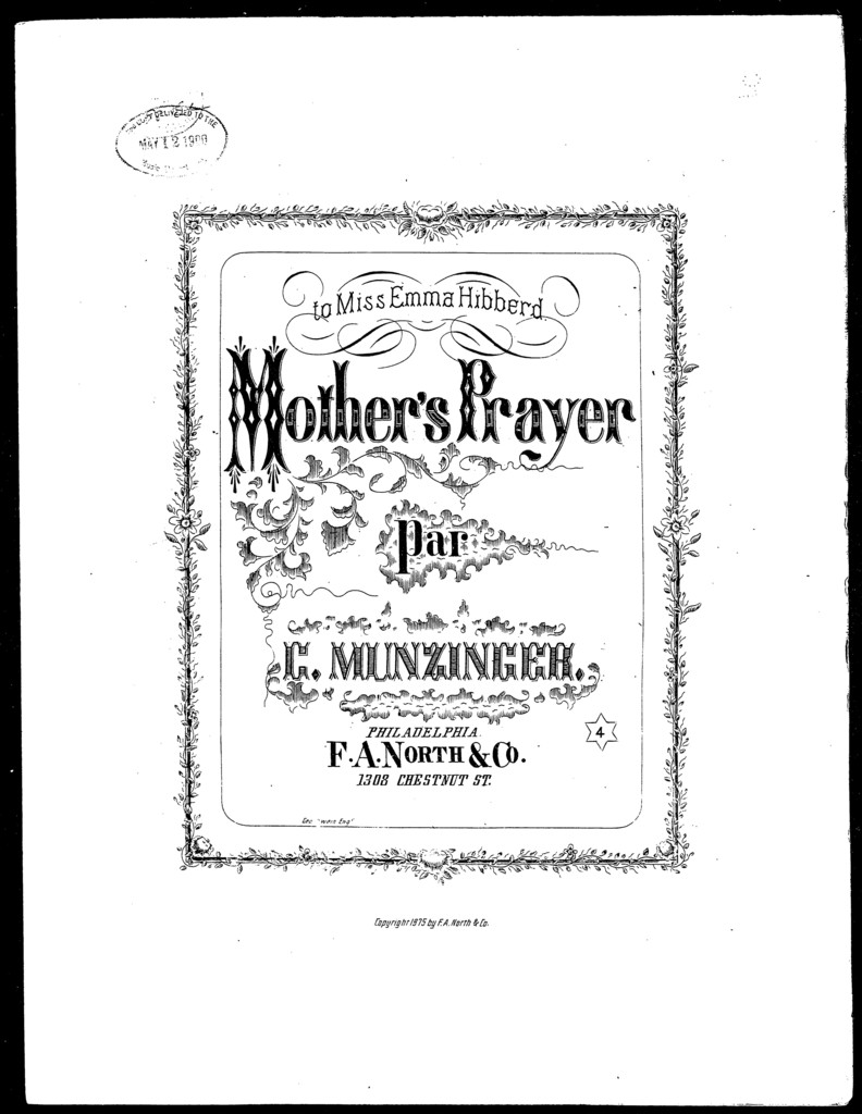 Mother's prayer [and] Tema