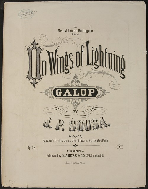 On Wings of Lightning
