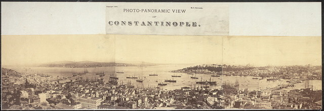 Photo-panoramic view of Constantinople