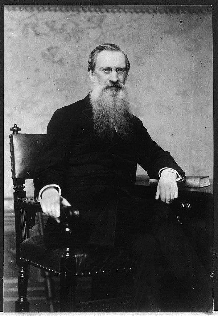 Photograph of Gardiner Greene Hubbard made in 1876