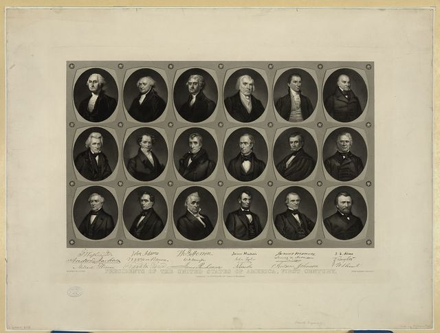 Presidents of the United States of America, first century
