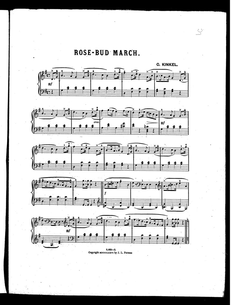 Rose-bud march