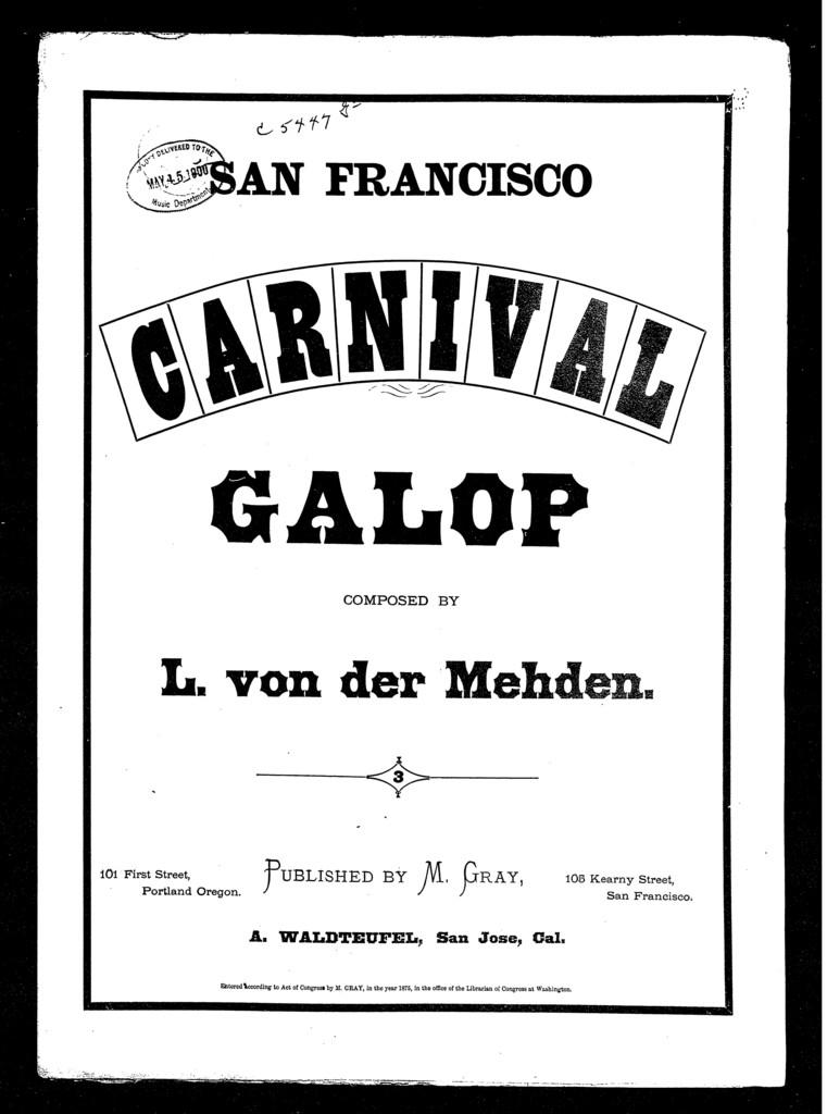San Francisco carnival
