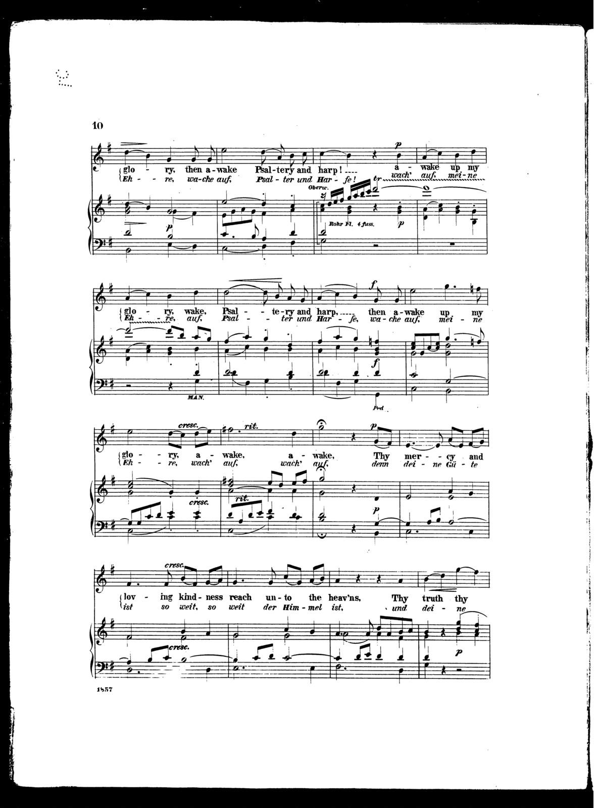 Show thy mercy, Lord [soprano]