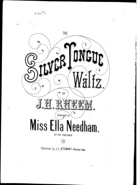Silver tongue waltz