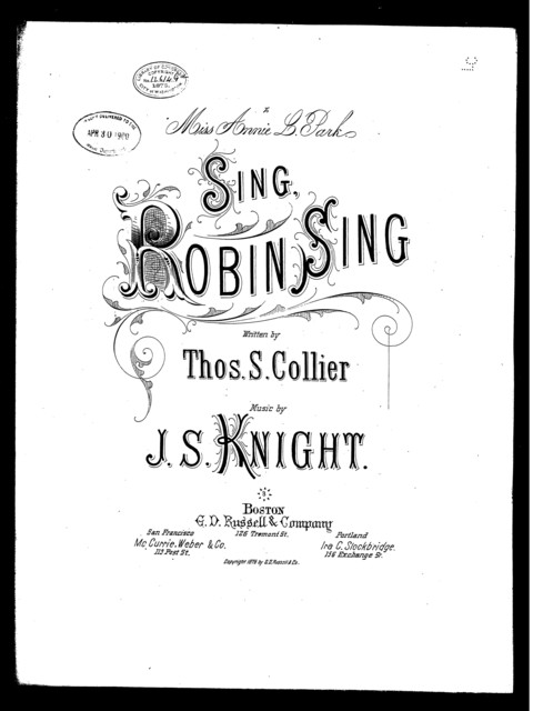 Sing Robin sing