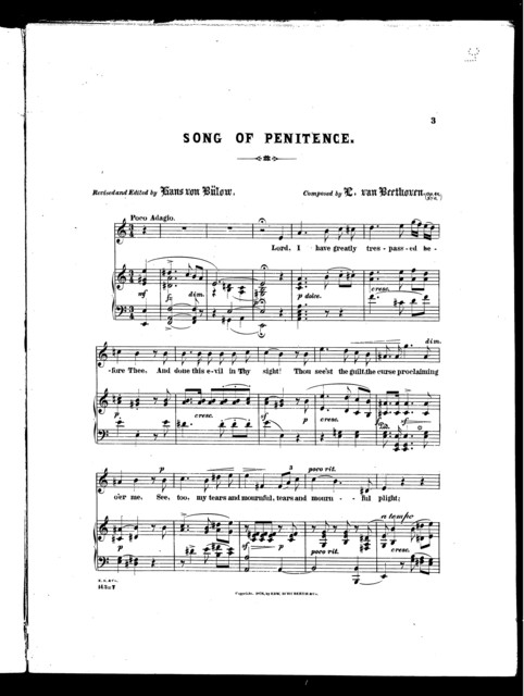 Song of penitence