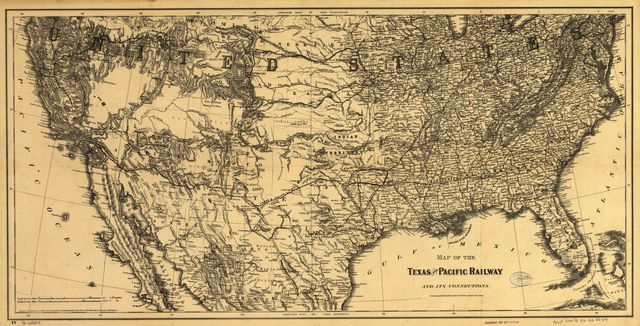 Texas and Pacific Railway and its connections.