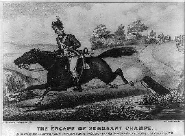 The Escape of Sergeant Champe