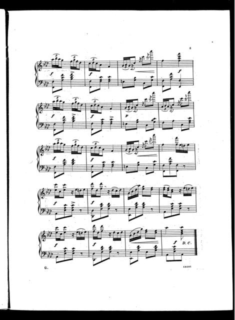 The  Nosegay polka