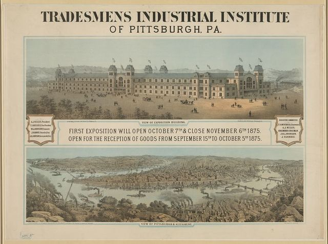 Tradesmens industrial institute of Pittsburgh, Pa.