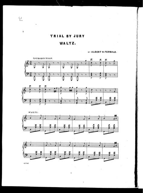 Trial by jury waltz