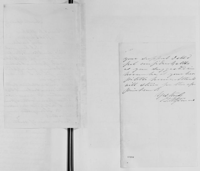 Alexander Hamilton Stephens Papers: General Correspondence, 1784-1886; 1877, Mar. 8-Oct. 4